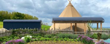 Lavender Keepers Café and shop at the Story Pig in Dorset